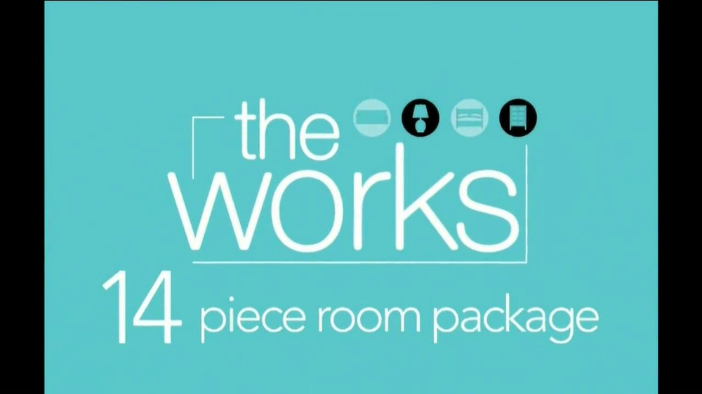 Ashley Furniture Homestore Tv Commercial 39 The Works 14 Piece Room Package 39