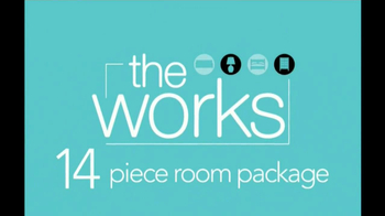 Ashley Furniture Homestore TV Spot, 'THe Works 14-piece Room Package'