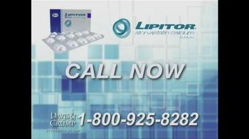 Davis & Crump, P.C. TV Spot, 'Lipitor' - Thumbnail 8