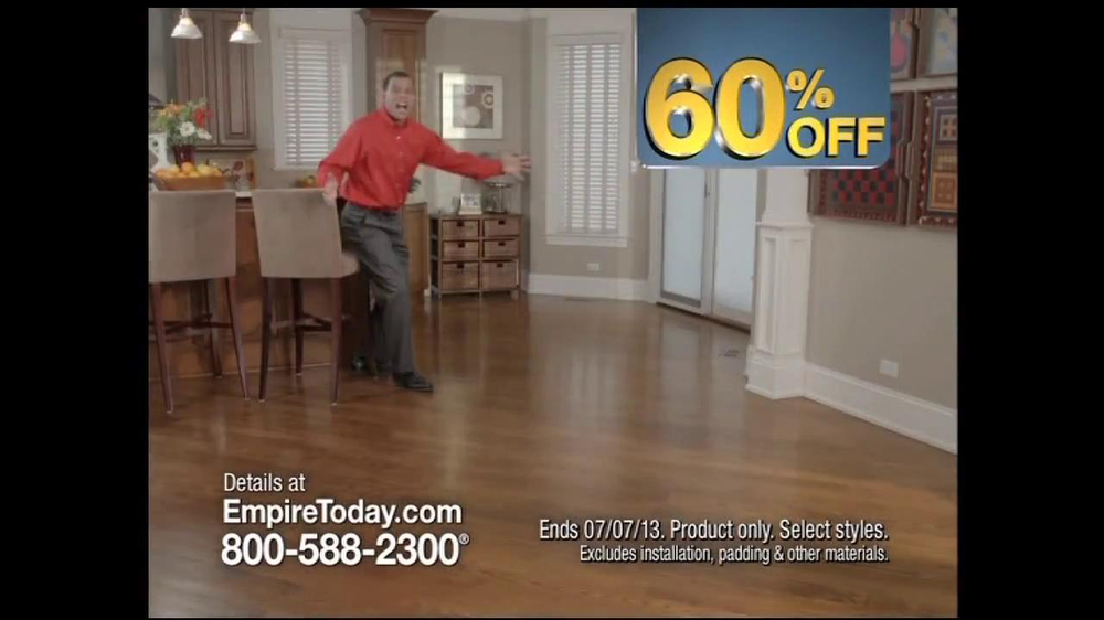 Empire Today 60% Off Sale TV Spot - iSpot.tv