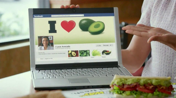 Subway Turkey and Bacon Avocado TV Spot, 'Avocado Love' - Thumbnail 3