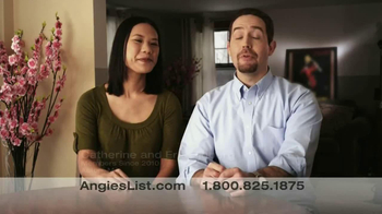 Angie's List TV Spot, 'Catherine and Eric Sjoberg'