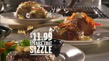 Longhorn Steakhouse Steaks that Sizzle TV Spot