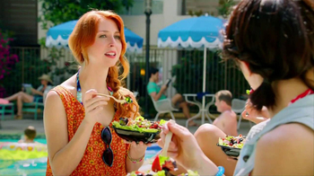 Wendy's Berry Almond Chicken Salad TV Spot - 5166 commercial airings