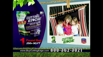 Cutting Edge Grass Seed TV Spot - Thumbnail 9