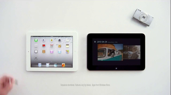 Microsoft Windows Tablet TV Spot