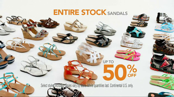 Payless Shoe Source Sandal Sale TV Spot - Thumbnail 8