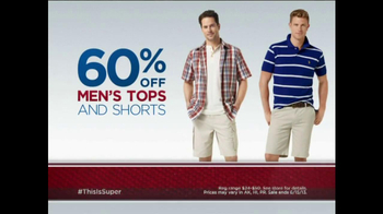 Sears One Day Sale Tv Commercial Man Of Steel Ispot Tv