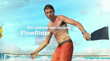 Royal Caribbean Cruise Lines TV Spot, 'Zip Line' Song by Flo Rida - Thumbnail 2