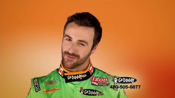 Go Daddy TV Spot, 'Sexy Side' Feat. James Hinchcliffe - Thumbnail 3
