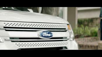 2013 Ford Explorer TV Spot, 'Wet or Wild' - Thumbnail 1