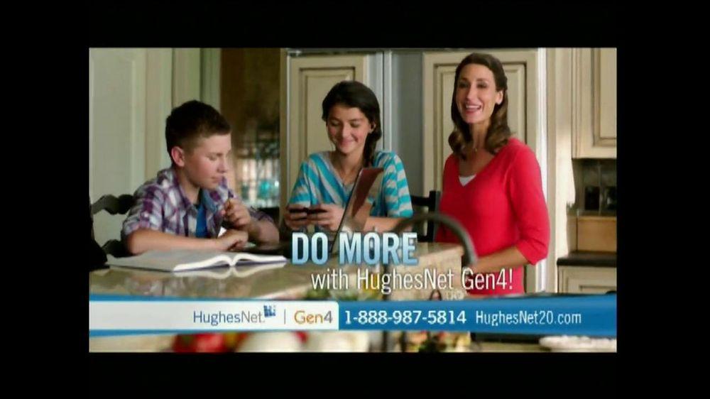 Hughesnet redhead commercial
