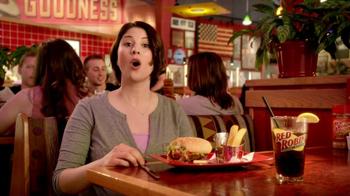 Red Robin Bottomless Steak Fries TV Spot, 'Booyah' - Thumbnail 2