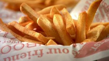 Red Robin Bottomless Steak Fries TV Spot, 'Booyah' - Thumbnail 4