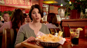 Red Robin Bottomless Steak Fries TV Spot, 'Booyah' - Thumbnail 5