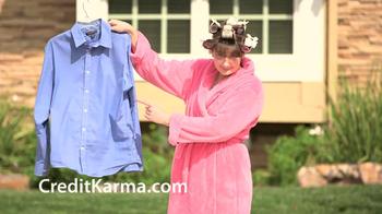 Credit Karma TV Spot, 'Man without a Shirt'
