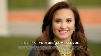 ACUVUE 1-Day Contest TV Spot Ft. Demi Lovato, Shay Mitchell, Dwight Howard