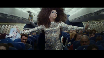 Facebook Home TV Spot, 'Airplane' Featuring Shangela Laquifa Wadley