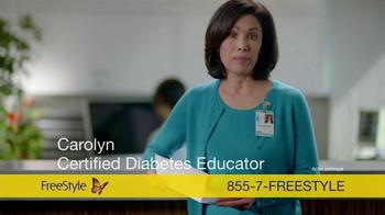 FreeStyle Freedom Lite TV Spot, 'Carolyn'
