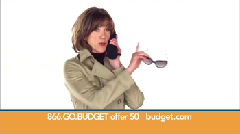 Budget Rent a Car TV Spot, 'Top Secret' Feat. Wendie Malick - Thumbnail 4