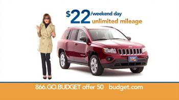 Budget Rent a Car TV Spot, 'Top Secret' Feat. Wendie Malick - Thumbnail 8