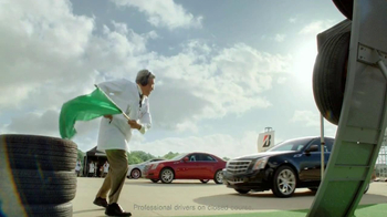 Bridgestone TV Spot, 'Drift Driving' Featuring Fred Couples - Thumbnail 4