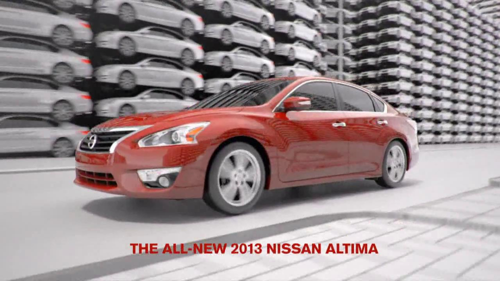 2013 Nissan Altima Tv Commercial Extra Set Of Eyes