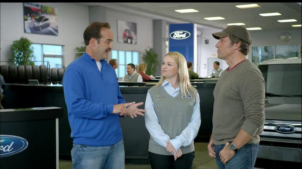 ford service tv commercial 39 confidence 39 featuring mike rowe. Black Bedroom Furniture Sets. Home Design Ideas