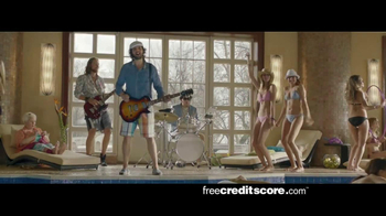 FreeCreditScore.com TV Spot, 'Pool Party' - Thumbnail 3