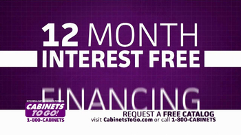 Cabinets To Go TV Spot, 'Free Kitchen'