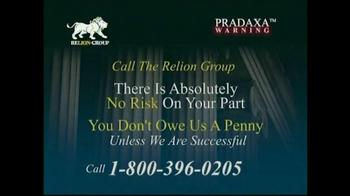 Pulaski Law Firm >> Relion Group TV Commercial, 'Pradaxa Warning' - iSpot.tv