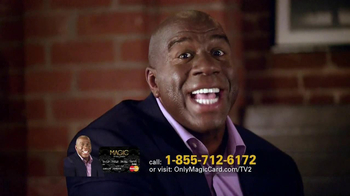 Magic Card TV Spot Featuring Magic Johnson