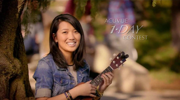 ACUVUE 1-Day Contest TV Spot, 'One Day' Featuring Joe Jonas, Demi Lovato