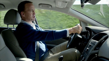 2013 Buick Verano TV Spot, 'Blindsided' Featuring Peyton Manning