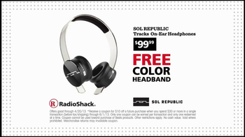 Radio Shack $10 Coupon TV Spot
