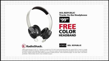 Radio Shack $10 Coupon TV Spot