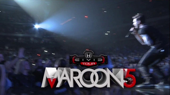 Honda Civic Tour: Maroon 5 thumbnail