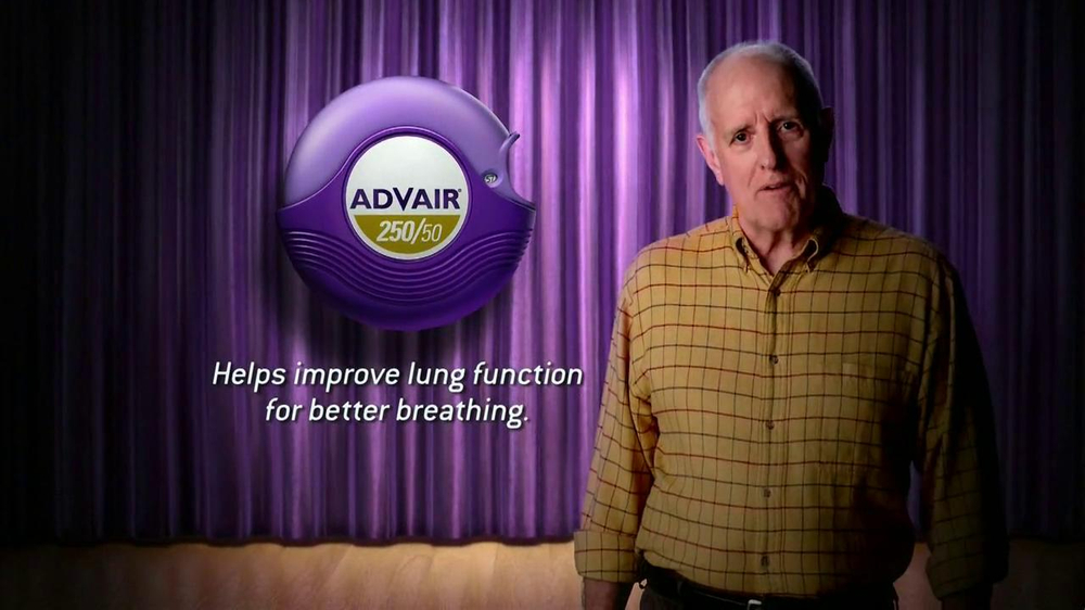 Dick Wieand in Advair Commercial