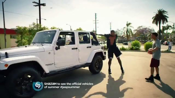 Jeep TV Spot, 'Lovers of the Game' Song by Michael Jackson - 238 commercial airings