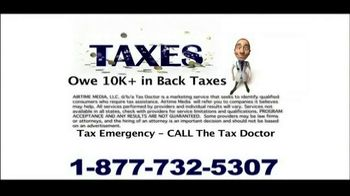 Call the Tax Doctor TV Spot