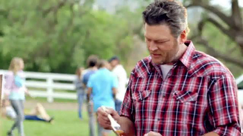 Pizza Hut Barbecue Pizzas TV Spot Featuring Blake Shelton