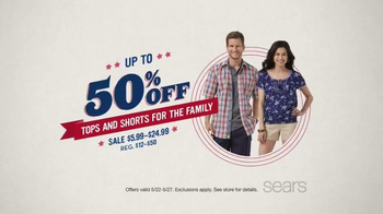 Sears Memorial Day Sale Tv Spot Ispot Tv