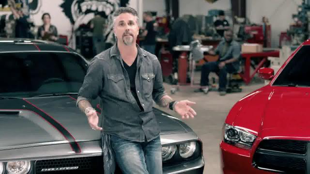 Dodge Double Up Guarantee TV Commercial Featuring Richard ...