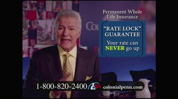 Colonial Penn TV Spot, 'Important Message' Featuring Alex Trebek - Thumbnail 1