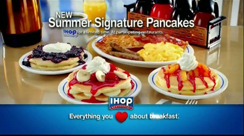 IHOP TV Spot, 'Summer Signature Pancakes'