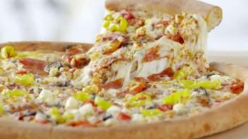 Papa John's Greek Pizza TV Spot