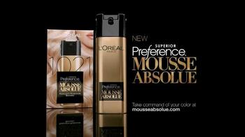 L'Oreal Paris Superior Preference Mousse Absolue TV Spot - Thumbnail 2