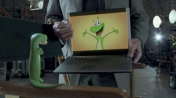 GEICO TV Spot, 'GEICO Gecko Cartoon Commercial'