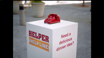 Hamburger Helper TV Spot, 'Helper Help Line'