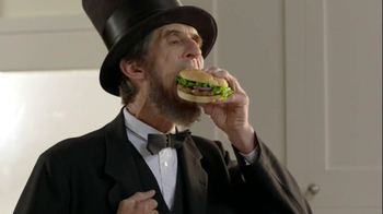 Ball Park Beef Patty TV Spot, 'Abraham Lincoln'